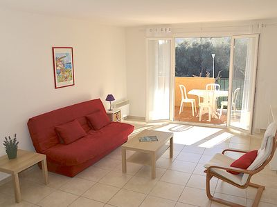 Photo for LARGE APPT T2 ON THE PRESQU'ILE OF GIENS IN RESIDENCE SECURISEE