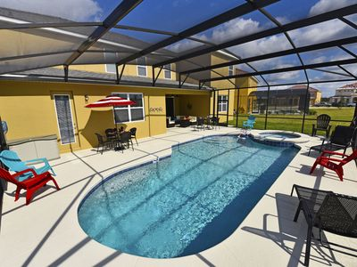 Photo for **12+ BED/10 BATH SPACIOUS HOME w/Heated pool*SLEEPS 30+**CLOSE TO DISNEY