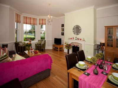 Photo for Superb, Ground Floor  City Centre Apartment with private parking for 2 cars