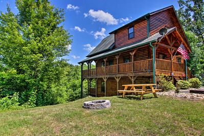 Peaceful days in the mountains await at this 3-bedroom, 3-bath vacation rental!