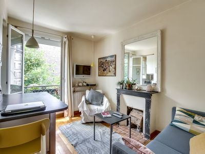 Photo for Cosy apt for 2 close to Eiffel Tower