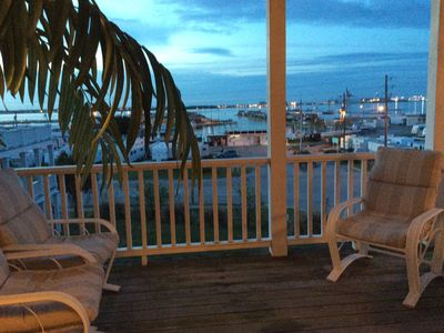 Photo for A beautiful Ocean side/Sound side view 3 BR 3.5 baths cottage at Atlantic Beach