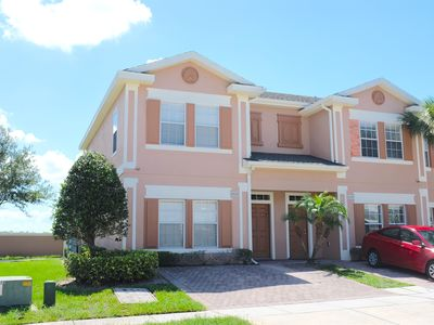 Photo for Close to Disney, Seaworld, 4BR Townhouse with Hot Tub