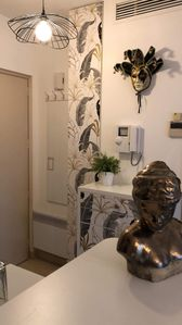 Photo for Nice 2 rooms nine near the old Antibes and beaches, terrace, parking,