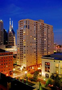 The Cumberland, Downtown Nashville overlooking 6th and Church