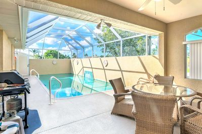 Dive into a great Florida getaway at this 3-bedroom vacation rental house!