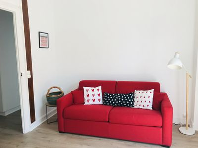Photo for St Jean de Luz BEAUTIFUL APARTMENT 70 m2 very close to the beach and the center.