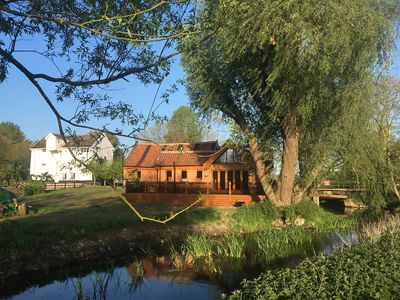 Photo for WATERMILL GRANARY BARN, pet friendly in Wortwell, Ref 931832
