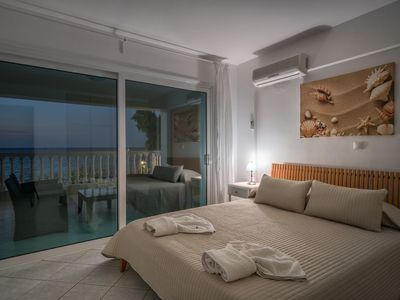 Photo for Playa Del Zante, 1 Bedroom Apartment with Sea View On the Beach