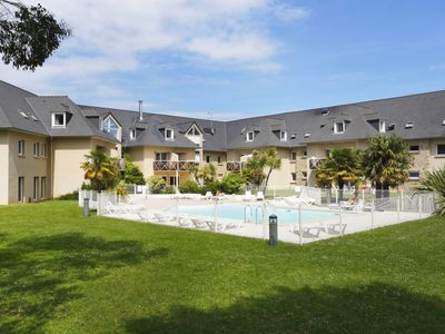 Photo for Saint-Lunaire Apartment, Sleeps 6 with Pool and Free WiFi