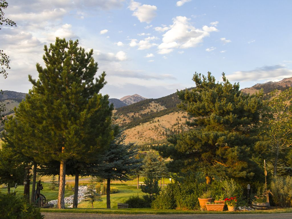 Easy mountain living private and quiet 5 miles from town for Mountain living