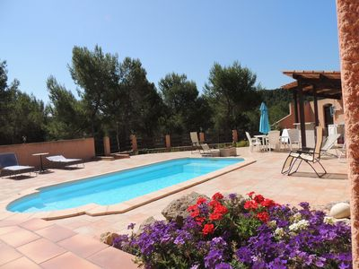 Photo for Between Aix-en-Provence and the sea - Villa with Private secluded pool