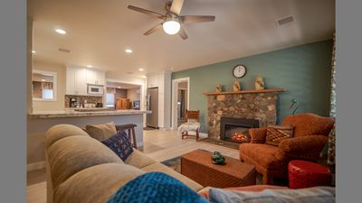 Photo for RATES REDUCED FOR FALL/WINTER. Fully remodeled home 1 mile from national forest.