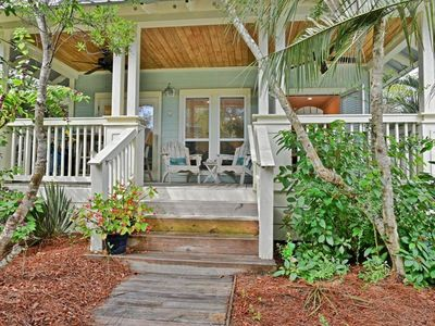 Photo for Daddio's Cottage on 30A - Seacrest Beach, FL -Deeded Beach Access, steps to pool