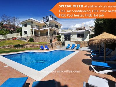 Photo for 6 bedroom Villa, sleeps 15 in Fuengirola with Pool, Air Con and WiFi