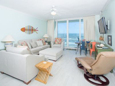 San Carlos Remodeled Beachfront Condo w/ Zero-Entry Pool & Epic Gulf Views