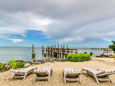 Photo for Fishermen`s Retreat 2bed/2bath with open gulf views & dockage