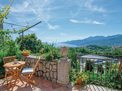 Photo for Two bedroom apartment with terrace and sea view Kastav (Opatija)
