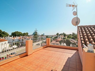 Photo for Lovely apartment with private pool, A/C, WIFI, TV, balcony, pets allowed and parking