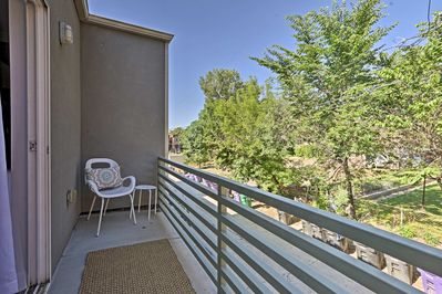 Enjoy the Colorado sunshine on your private patio!