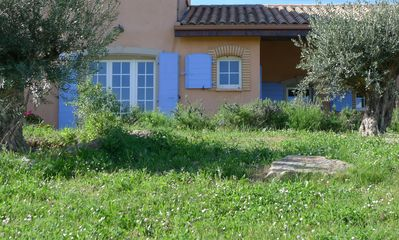 Photo for Beautiful cottage languedocien, ponies, pool village, 15 minutes from Carcassonne