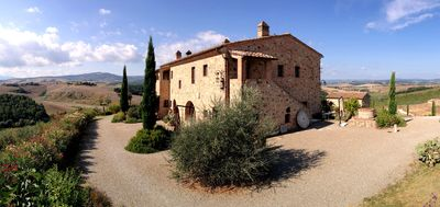 Photo for FARMH.PODERE CUNINA 25 KM SOUTH  SIENA IN FRONT  MONTALCINO TAKING COOKING CLAS