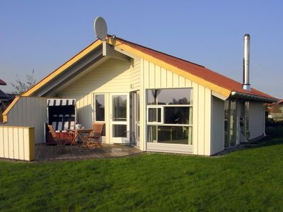 Photo for bright Danish timber house with open views to nature, pets welcome