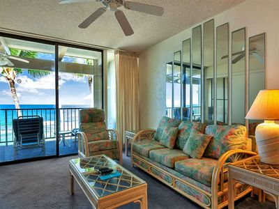 Photo for Easy Ocean Life w/Sunset View, Large Lanai, Kitchen, Washer/Dryer–Kona Bali Kai 313