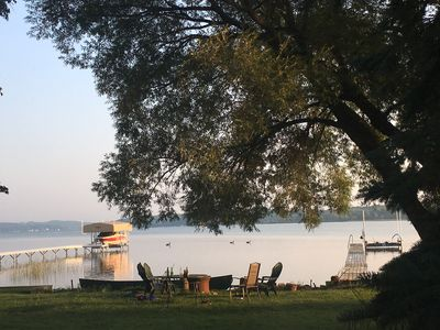 Photo for Available Memorial Day Weekend: Lake Charlevoix waterfront cottage