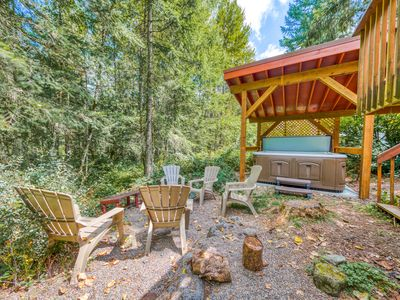Photo for Waterfront home w/ river views, shared pool - close to skiing/hiking - dogs OK!