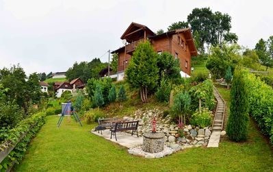 Photo for Holiday house on the Millstätter See and opposite the ski area Goldeck, middle Wo.
