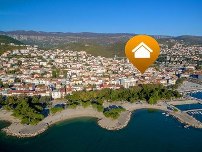 Photo for Renovated holiday home in the old town centre of Crikvenica