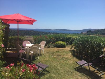 Photo for Ground floor with exceptional sea view - In a Pierres et Vacances club