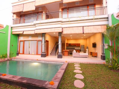 Photo for 3 Bedroom Private Pool Villa in Legian Village- Kubu Willis
