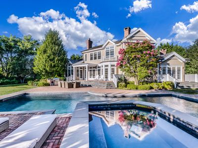 Photo for Luxury East Hampton Retreat - Pool, tennis & less than a mile to ocean beaches