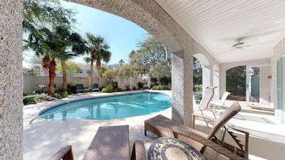 Photo for Five bedroom with pool short walk to one of the best beaches on Saint Simons Isl