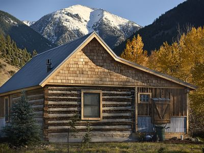 Photo for Cozy, Rustic Cabins near Chico Hot Springs & only 35 mins to YELLOWSTONE PARK!!
