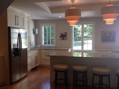 Photo for The Best Location in Wellesley! Steps to charming shops, cafes, train to Boston