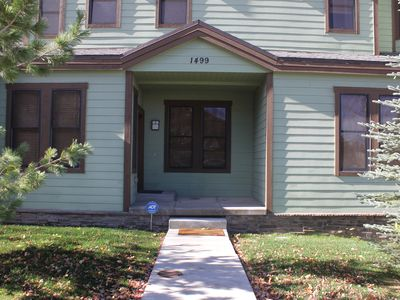 Photo for Beautiful, Spacious Moose Lodge Condo! 2 Blocks from PCMR!!!