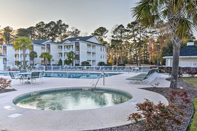 Access resort amenities while staying at this 3-bed vacation rental condo!