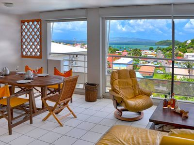 Photo for Anse Mitan F3 with terrace of 20 m2 Sea View and 5 minutes walk from the beach