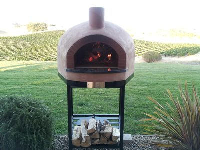 Wood Fired Brick Oven