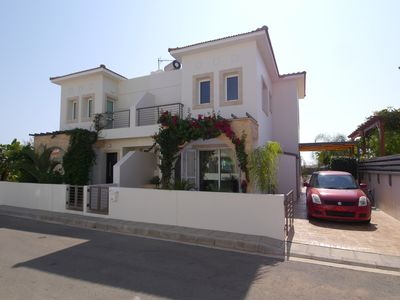 Photo for Luxury Family Focused Villa - 5 minute walk to the beach with HEATED POOL