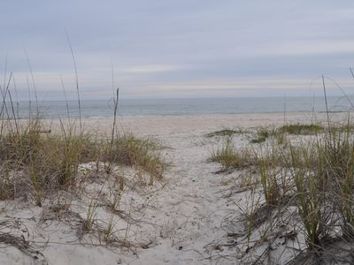 Photo for Hakuna Matata, Beachfront Home on St. George Island ideal for families or groups