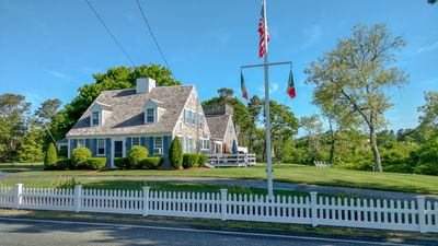 Photo for Fisk St 163- Spacious Captain's House with views of the marsh. .4 miles to beach