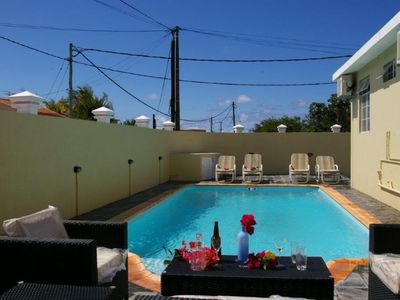 Photo for Cozy villa Moulin Rouge  with a pool in Grand Baie