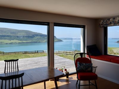 Photo for Overwater -Unique Home for a Couple- Unrivalled  Sea Views, Lochbay,  Waternish