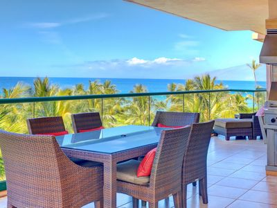 Photo for Maui Resort Rentals: Honua Kai – Incredible 5 Bedroom Oceanfront Gem, Over 3800 combined Sq. Ft. w/ 2 Built-in Viking B.B.Q.s!