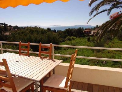 Photo for 1st and last floor of villa with beautiful sea view
