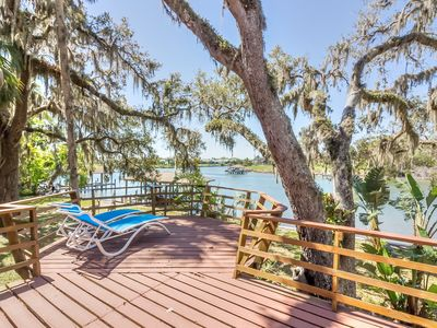 Photo for Serenity Awaits You At this Home Located on Matanzas River w/Pool!!!!!